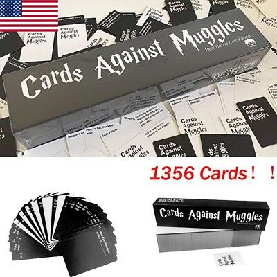 Cards Against Muggles Cards Against  1356 Cards Table Game Party Gift US FS