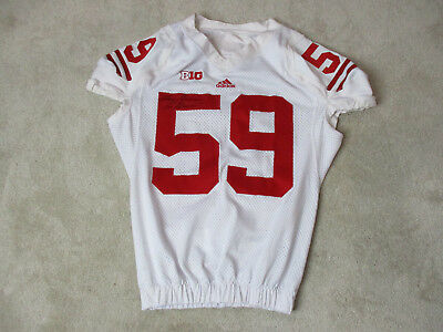 Adidas Marcus Trotter Wisconsin Badgers Football Jersey Game Practice Worn Used