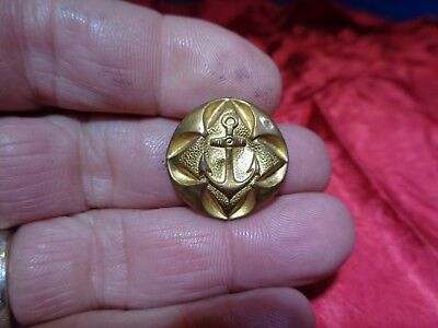 Old Civil War Uniform Metal Button #27