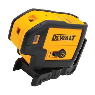 DeWalt DW085K 5-Beam Laser Pointer and Case   New!   ^