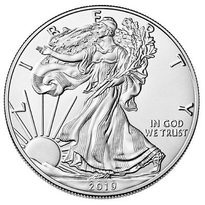 Pre-Selling 2019 Silver Eagles Estimated shipping Week of 1/21