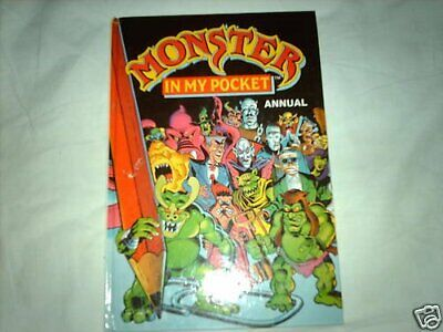 Monster in My Pocket Annual 1992 by Unnamed Hardback Book The Cheap Fast Free