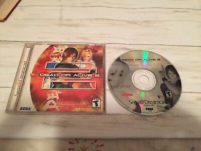 Dead or Alive 2 Sega Dreamcast Game COMPLETE doa fighting - Works Great