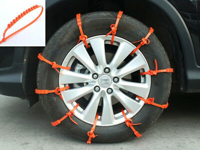 1Pc Anti-Skid Tire Chain for Truck SUV Car Snow Freeze Climbing Winter Driving