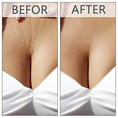 ANTI-WRINKLE SILICONE CHEST PADS, Decollete Chest Pad Anti-Wrinkle Anti-Aging