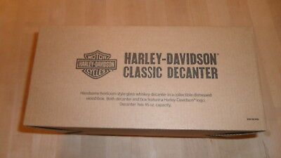 Harley Davidson Classic Whiskey Decanter 2018 Limited Edition Collectible NIB