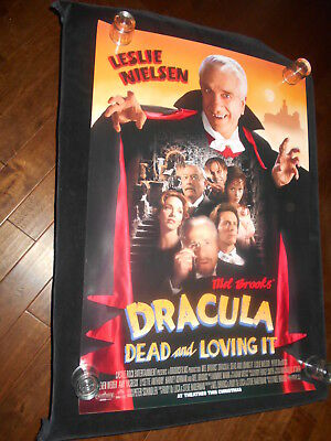 Dracula Dead And Loving It Original Rolled  One Sheet  Poster Horror  Mel Brooks