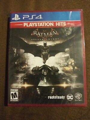 Batman Arkham Knight (Sony PlayStation 4, 2018) PS4 Playstation Hits Rated M NIP