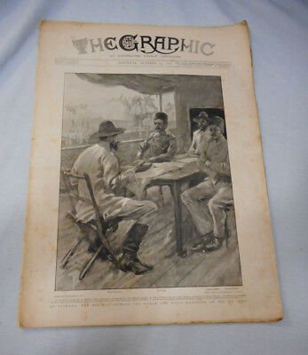 #T117.   The Graphic Newspaper - 15  October 1898