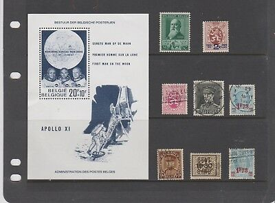 Belgium Stamps Mint And Used