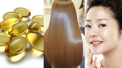 EVION Vitamin E 600 mg Capsules For Face Hair Acne Nails Herbal by MERCK