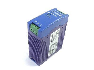 LUTZE Systematic Technology DRA60-24A Power Supply 47-63 Hz 1500mA 24VDC 60W