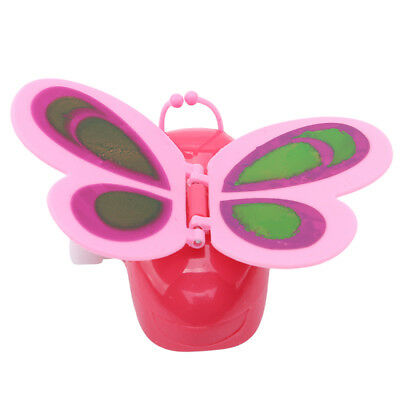 Colorful Clockwork Flying Butterfly Party Bag Wind Up Kids Toy Gift Z