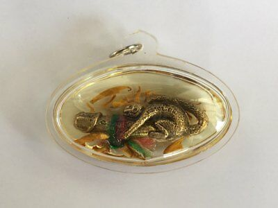 Paladkik Monkey in Oil Thai Amulet Pennis Charm Love Luck Attraction Protection