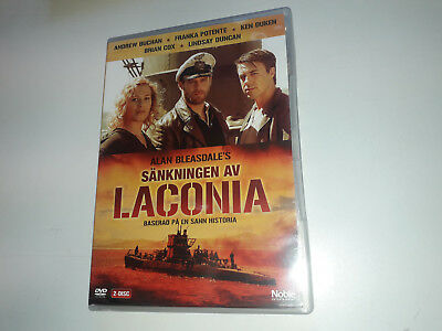 * NEW DVD Film * The Sinking of the Laconia DVD (2016) * sca BRIAN COX