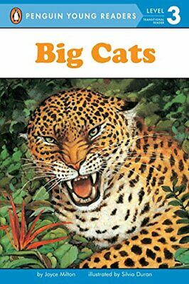 Big Cats (All Aboard Reading: Level 2) by Milton, Joyce Book The Cheap Fast Free