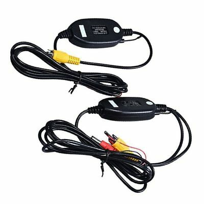 Wireless Transmitter Receiver For Car Reverse Rear View Camera Monitor New