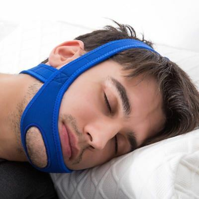 Anti Snore Chin Strap Stop Snoring Belt Jaw Solution Sleep Apnea Support Aid Kit