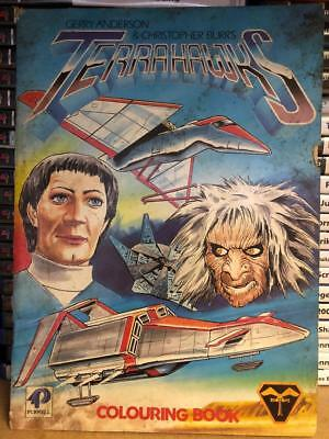 Terrahawks Colouring Book Gerry Anderson Purnell 1984
