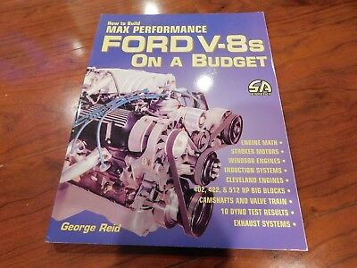 BUDGET BUILD FORD 5 0 302-347 Stroker Engine Video DVD $1500