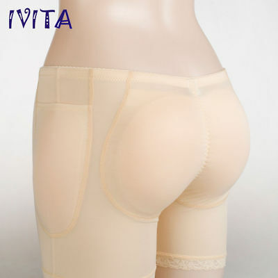 f41b57e94 Sexy Silicone Padded Buttock IVITA Enhancer body Shaper Panty for Women New