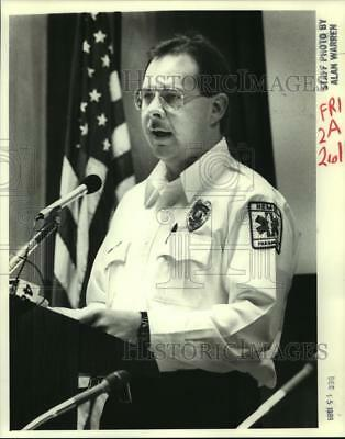 1989 Press Photo Don Webster, Huntsville Emergency Medical Services, Inc.