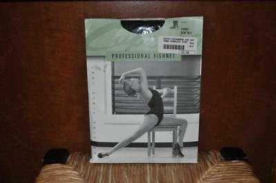 b28fc6402bbbe Capezio Professional Seamless Fishnet Black Tights 3000 Size M/T - New