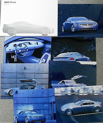 BMW Z9 Gran Turismo 1999 Press Pack Photograph x 7 Excellent English Language