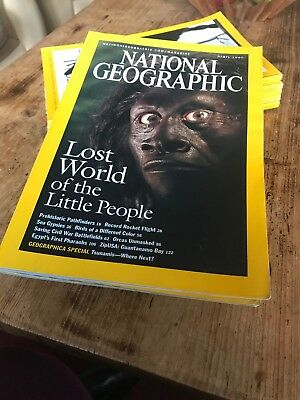 Bundle Of 5 National Geographic Magazines