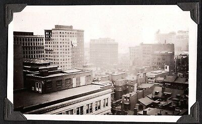 Photograph 1924 Brick Buildings 16Th Street Philadelphia Pennsylvania Old Photo