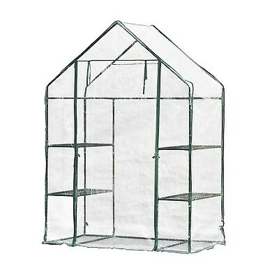 ALEKO 4.58 Ft. W x 2.41 Ft. D Mini Greenhouse