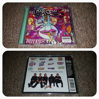 Maroon 5 - Overexposed [BRAND NEW] (Australian CD)