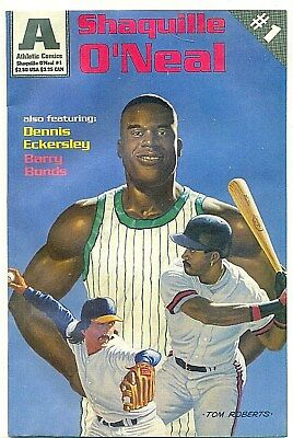 Vintage April 1993 Athletic Comics SHAQUILLE O'NEAL  Issue No. 1 !!