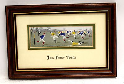 CASH Detailed 'The First Touch' Mounted EMBROIDERED ARTWORK / Framed - Y96