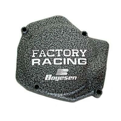 Boyesen Factory Racing Ignition Cover Silver Fits Honda CR125 1988-2004