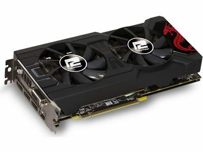 RX 570 4gb power color red dragon used 6m