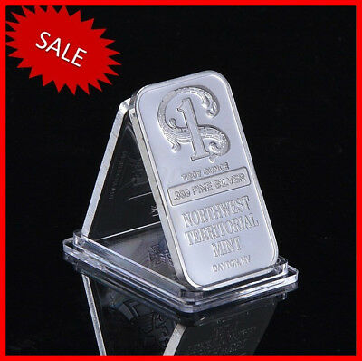 1 oz Northwest Territorial Mint Silver Bar .999 Fine - Limited Offer