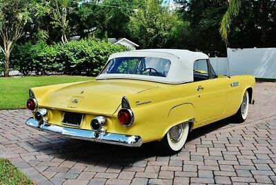 1955 Ford Thunderbird Convertible Hard & Soft Top Absolutely Gorgeous 1955 t-bird convertible Power Steering, Hard Top, New Soft Top 292 V8 stunning