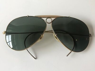 Vintage Ray-Ban Shooter (Bausch & Lomb, Made in USA)