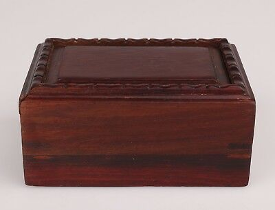 Rare Wood Unique Handmade Jewelry Decorative Box Christmas Gift Collection