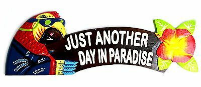 Parrot Another Day Paradise Wood