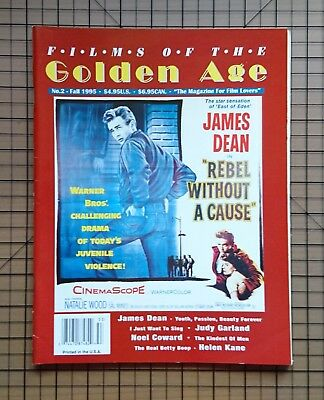 Golden Age - The Magazin For Film Lovers - James Dean Gary Cooper Anita Page
