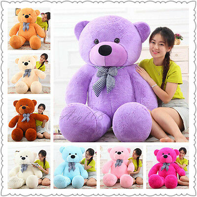 Valentine Hot Teddy Bear Plush Large Size Stuffed Toy Warm Kids Gifts 80-220cm