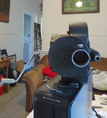 Bell & Howell EYEMO 35mm Cine Machinery Movie Camera Burke & James UNTESTED