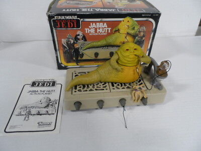Vintage Star Wars Jabba The Hutt Playset with box Return of the Jedi