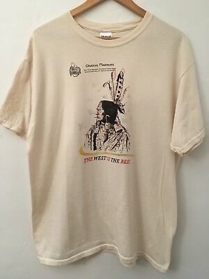 WES LANG - Chateau Marmont tee shirt - RARE - Pre Owned- Large