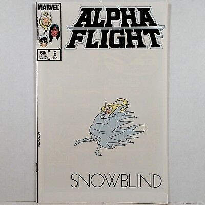 Alpha Flight - Vol. 1, No. 6 - Marvel Comics Group - January 1984 - No Reserve!