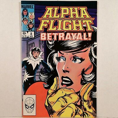 Alpha Flight - Vol. 1, No. 8 - Marvel Comics Group - March 1984 - No Reserve!