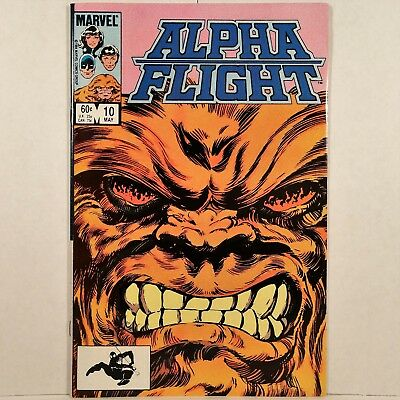 Alpha Flight - Vol. 1, No. 10 - Marvel Comics Group - May 1984 - No Reserve!