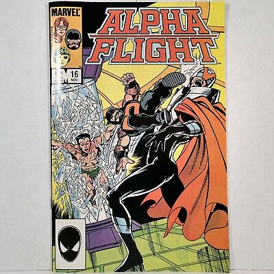 Alpha Flight - Vol. 1, No. 16 - Marvel Comics Group - November 1984 - No Reserve